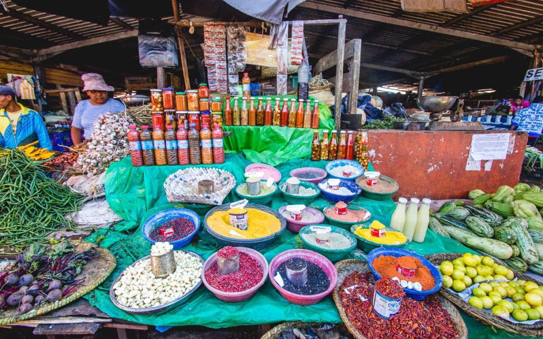 Epices et gastronomie malgache