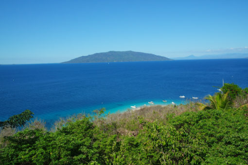Paysage de Nosy Tanikely