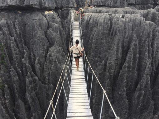 Pont suspendu Tsingy de Bemaraha