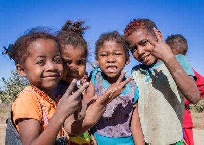 Enfants à Madagascar