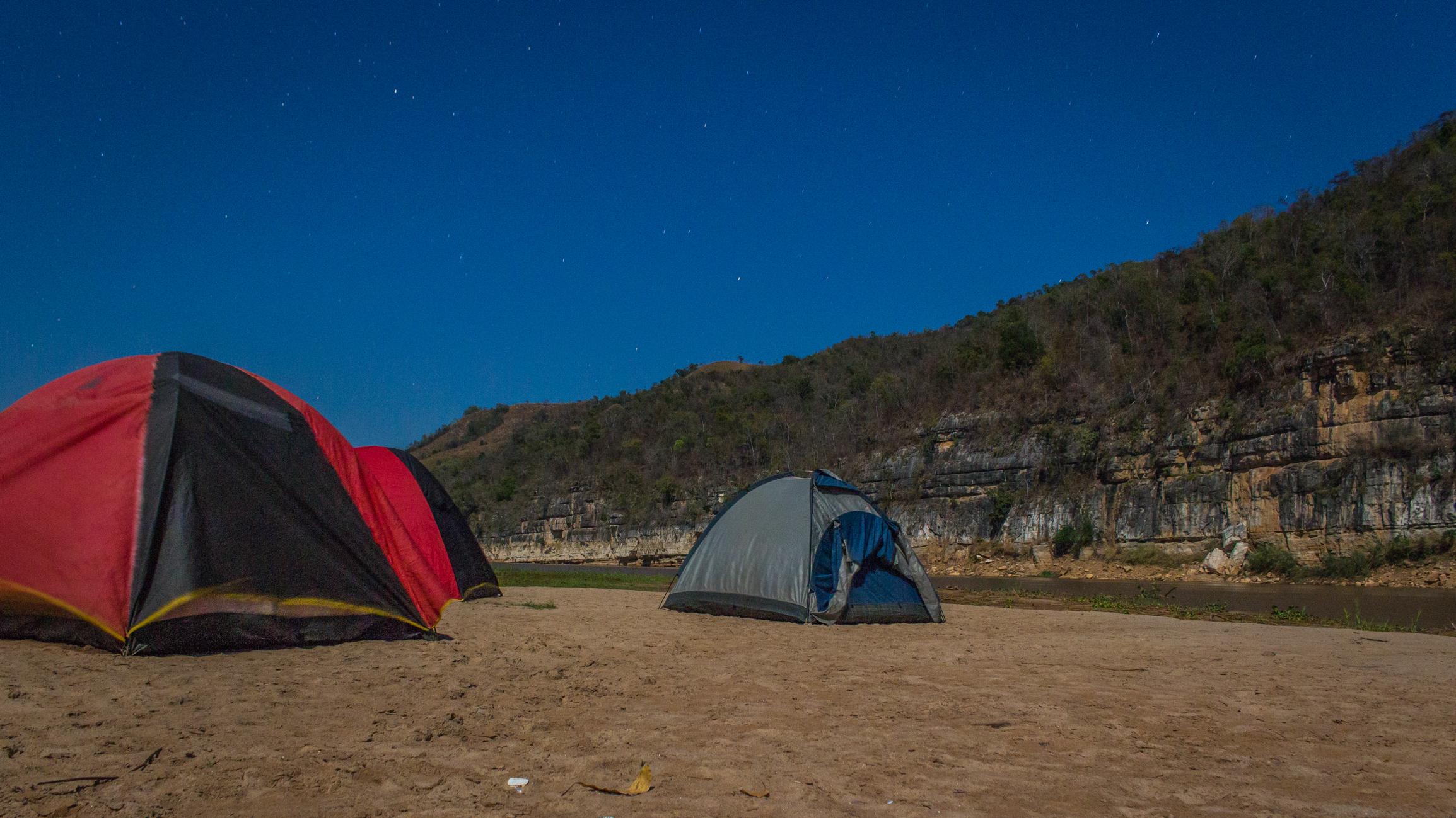 Tsiribihina - Campement nuit