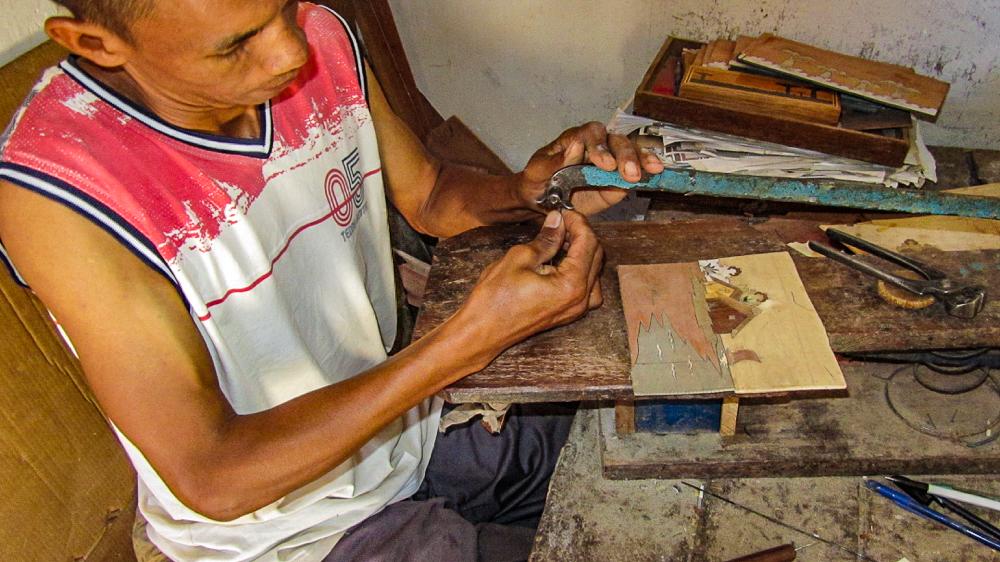 Madagascar - Ambositra, artisans 5