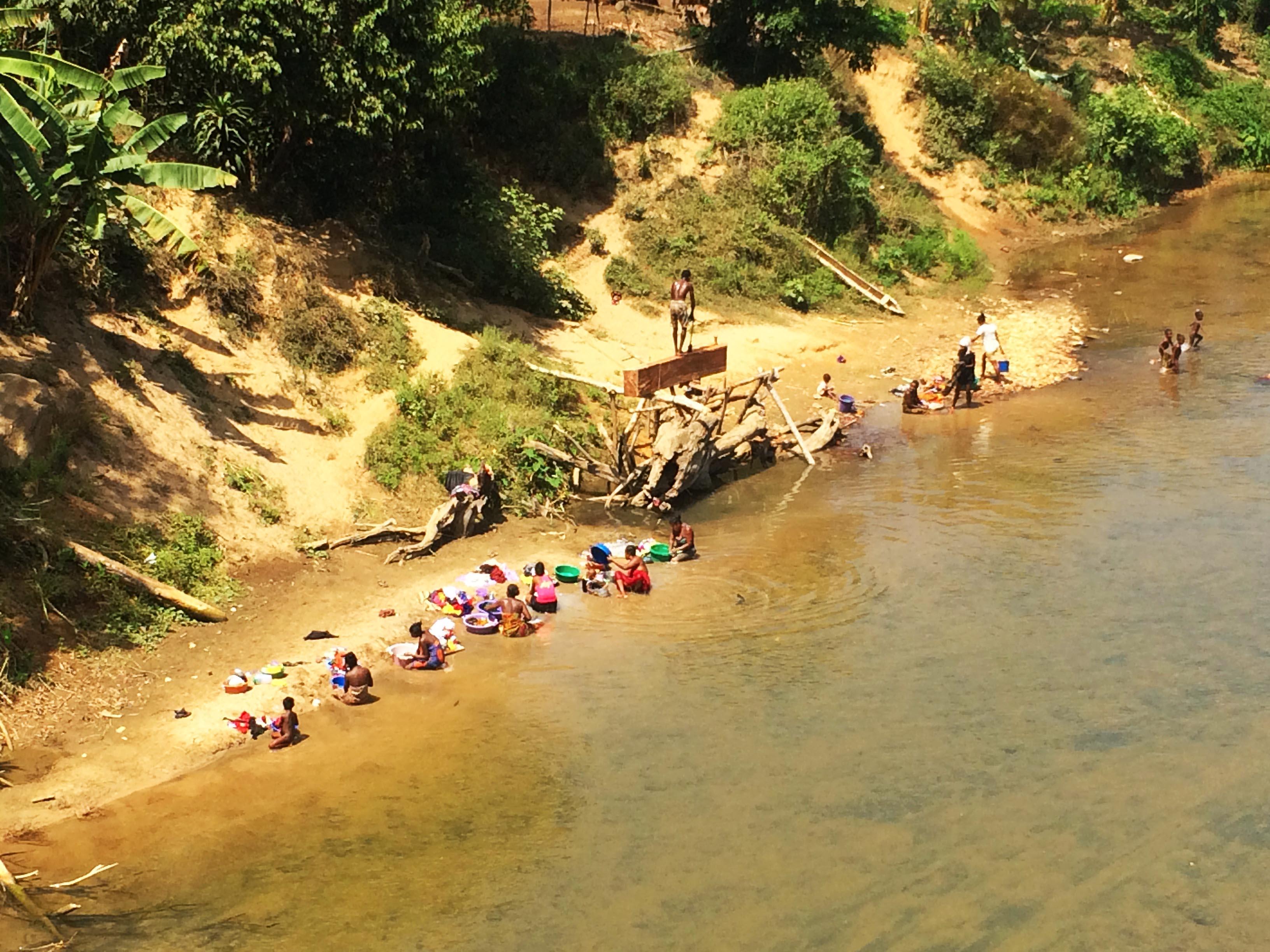 Madagascar - Ambanja, fleuve sambirano