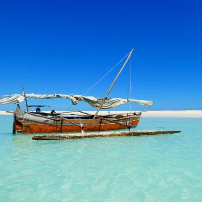 Nosy Iranja - bateau