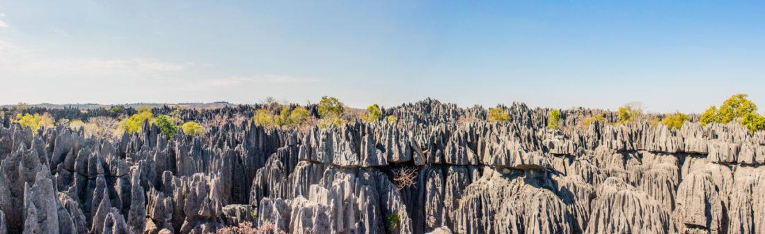 Panorama des Tsingy de Bemaraha