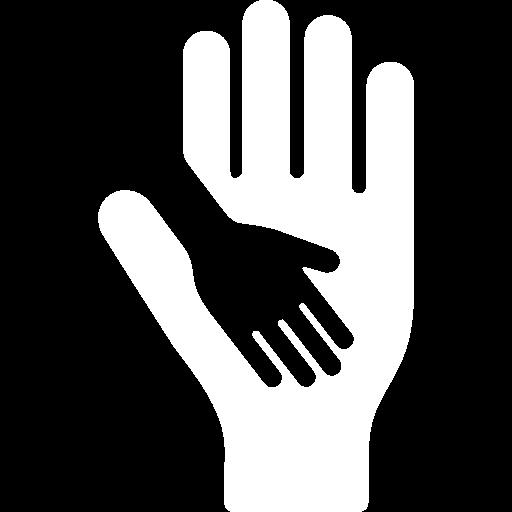 child icon blanc