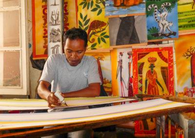 Artisanat madagascar - Art batik