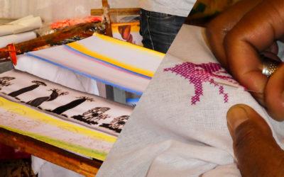 Rencontre avec Francois et M. Ri, artistes au marché des artisans