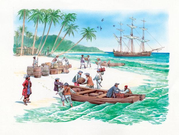 Madagascar, une île très convoitée (des premiers hommes au XIXème siècle)