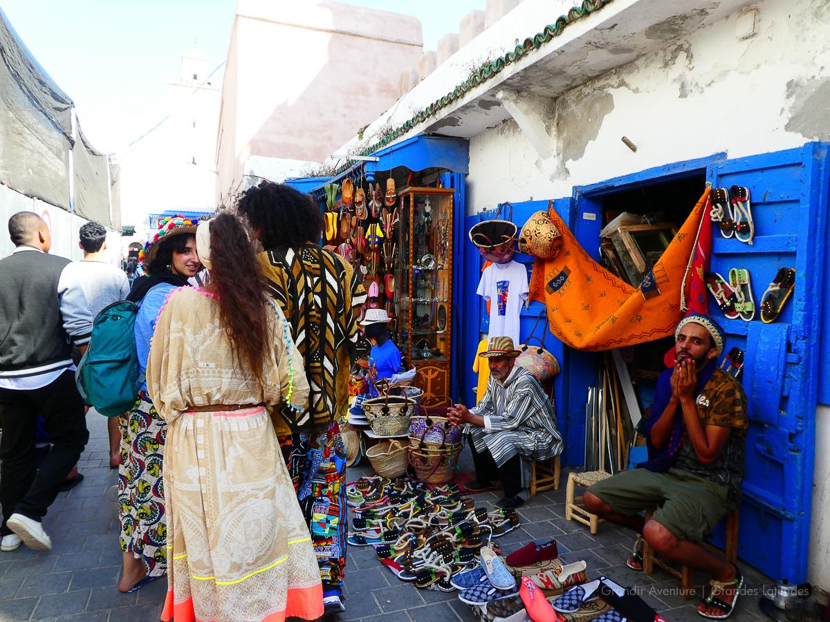 Maroc - Essaouira, le souk