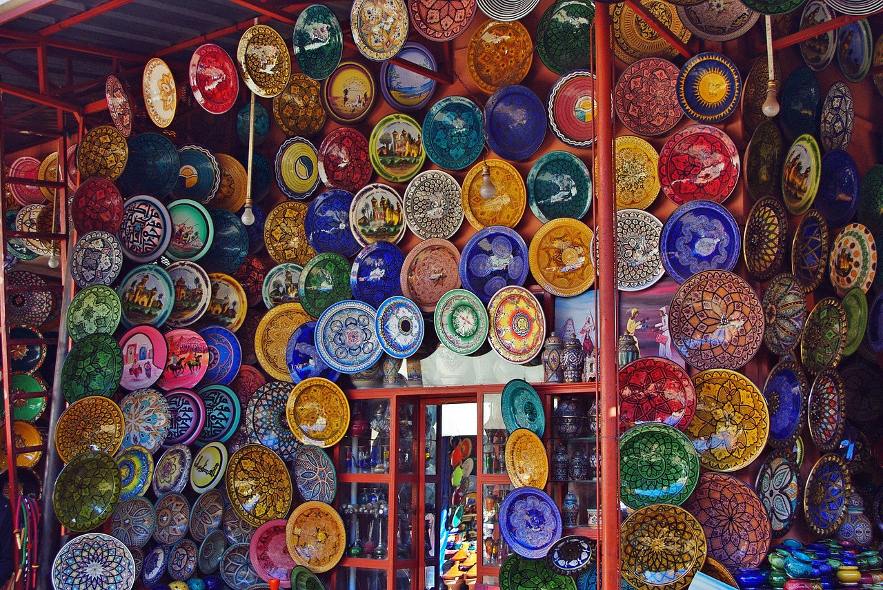 Maroc - Marrakech, souks