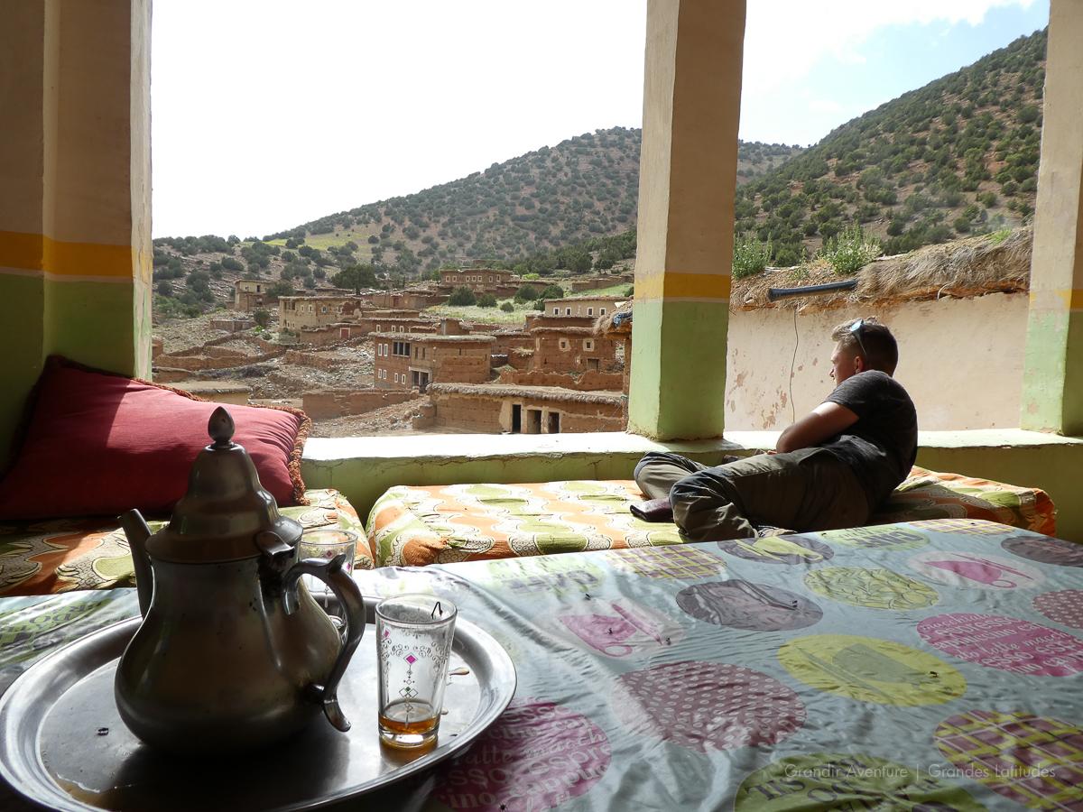 Maroc - R'bat, chez Hamou 5