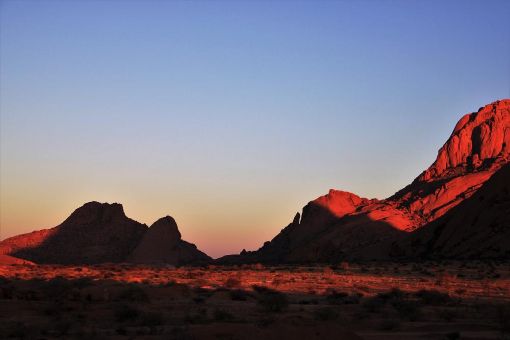 Namibie - Spitzkoppe
