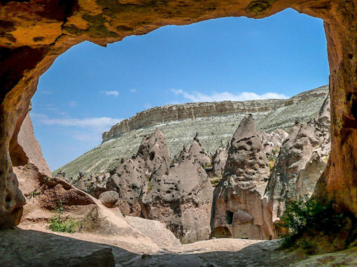 Turquie - Zelve, grotte