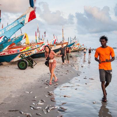 Sénégal - sur la côte