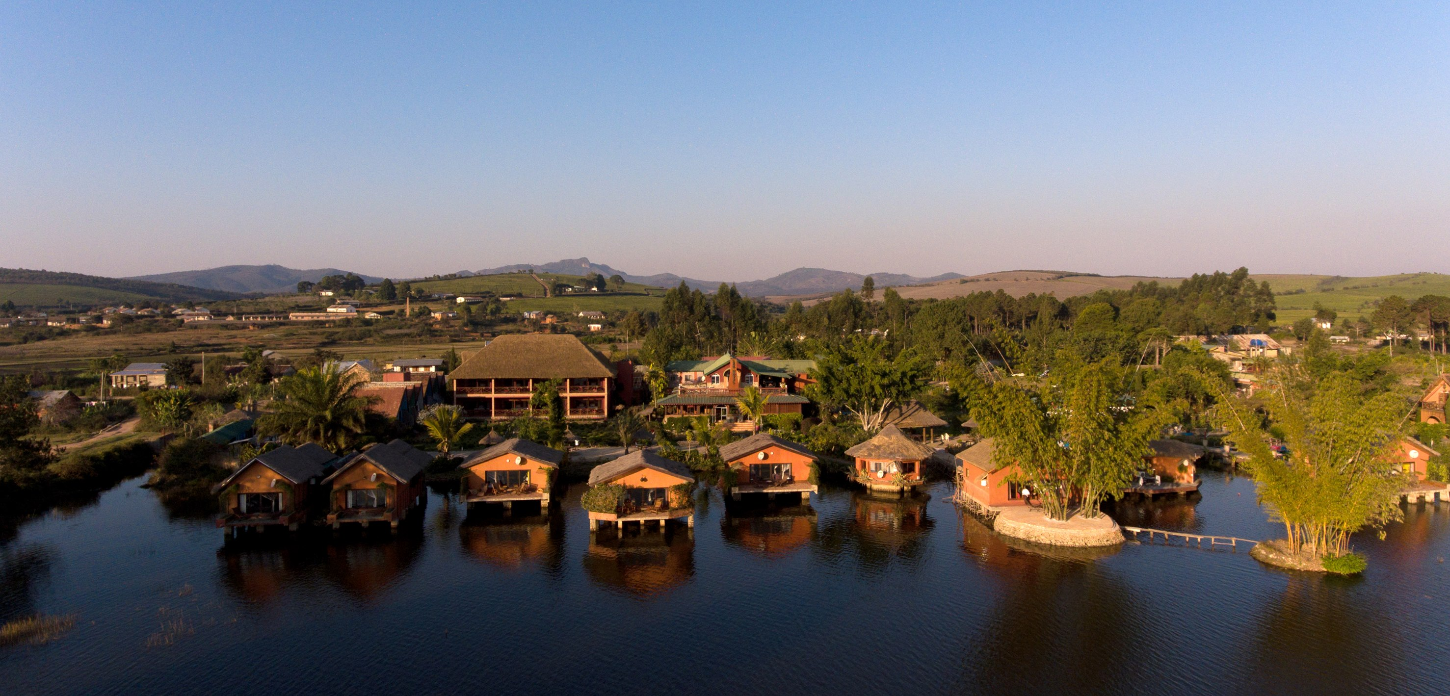 Madagascar - Fianarantsoa, Lac Hotel (photo site Lac Hotel)