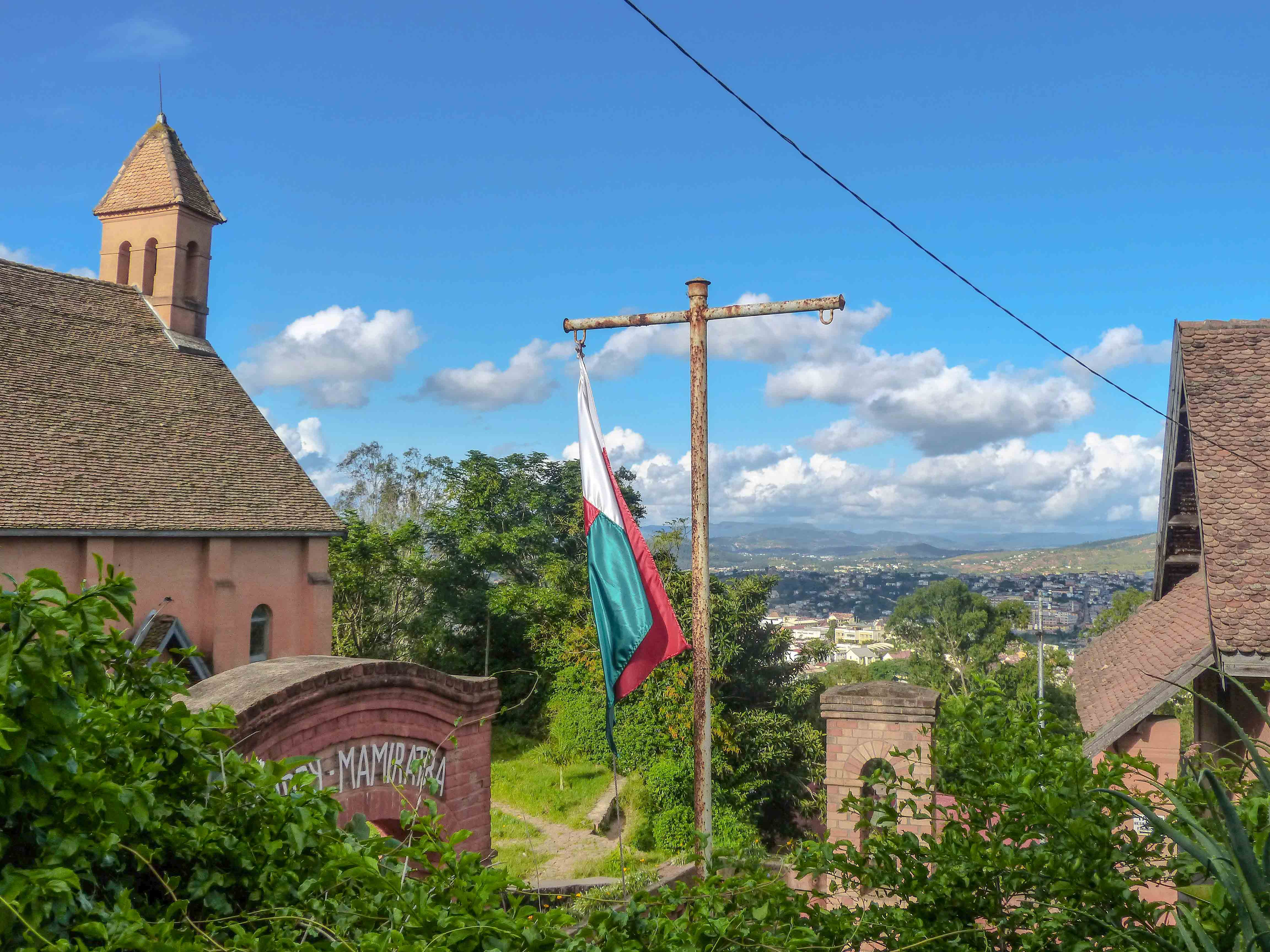 Madagascar - Fianarantsoa, haute ville