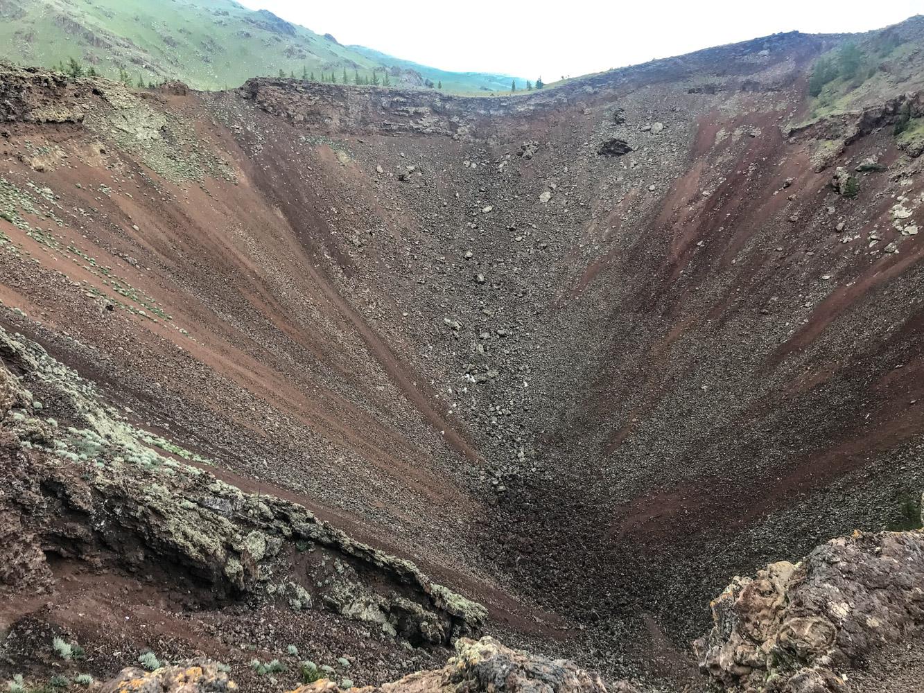 Mongolie - Volcan Horgo