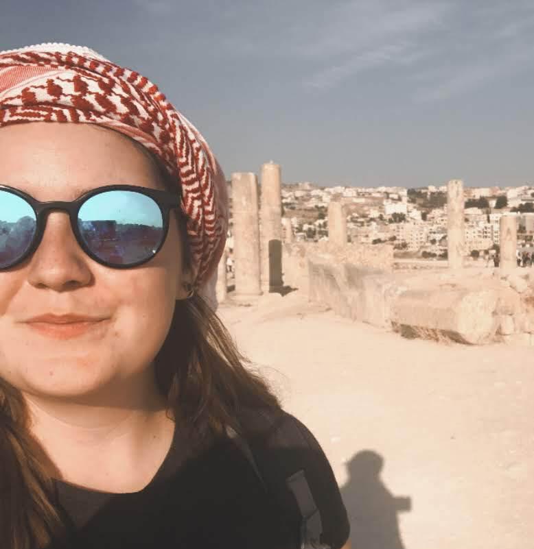 Marion Quintin en Jordanie