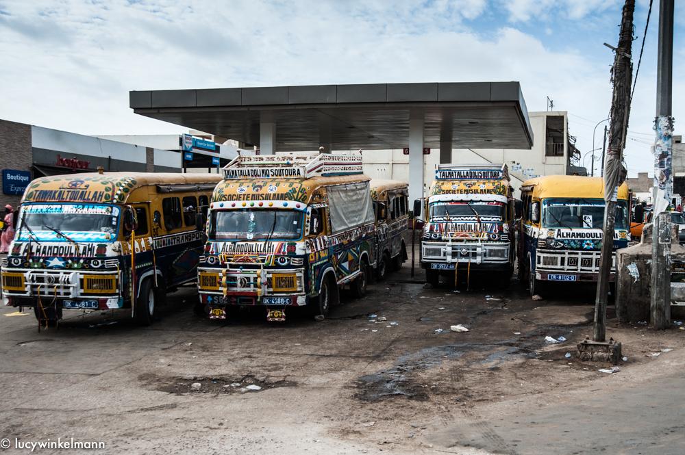 Sénégal - bus
