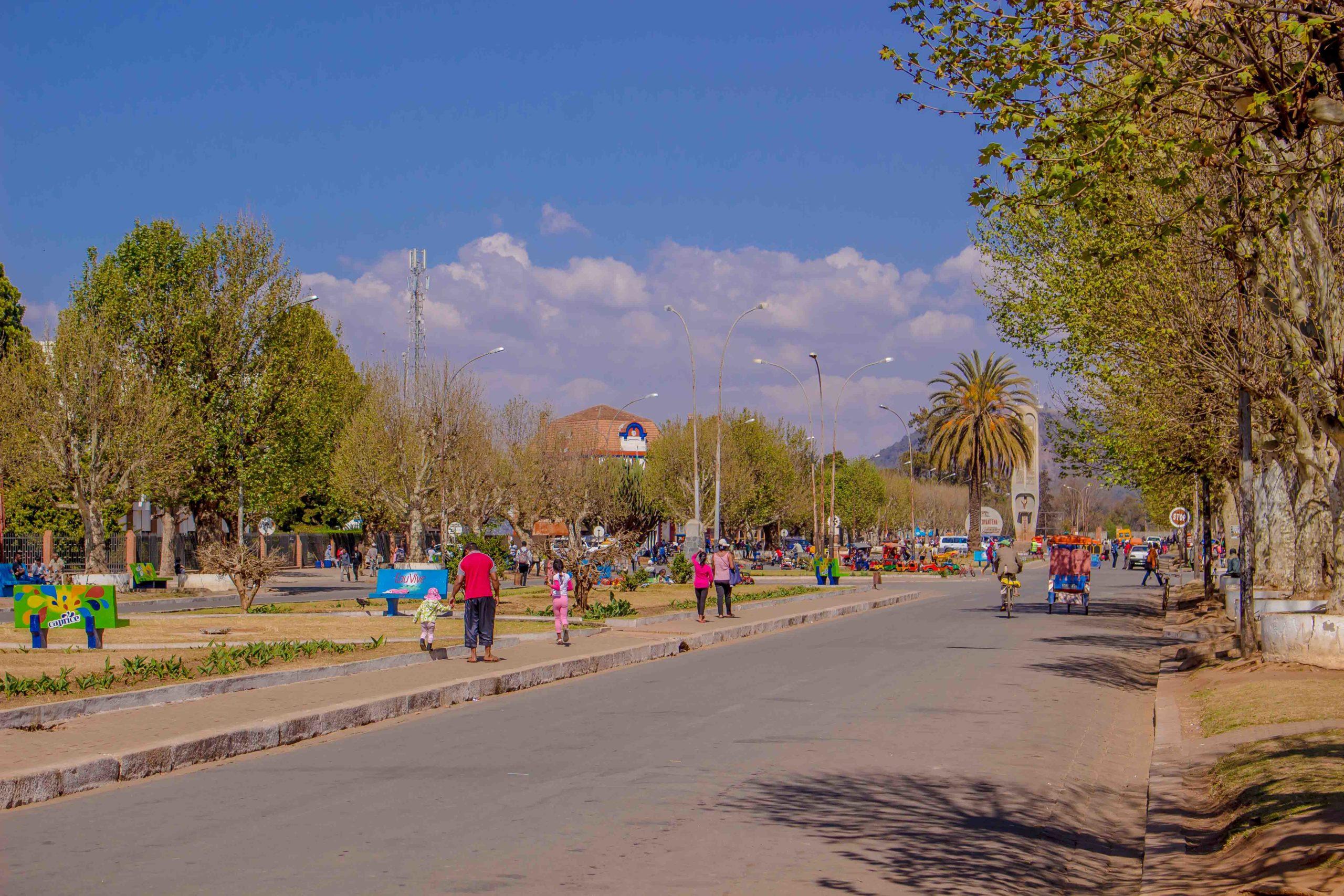 Madagascar - Antsirabe : Gare