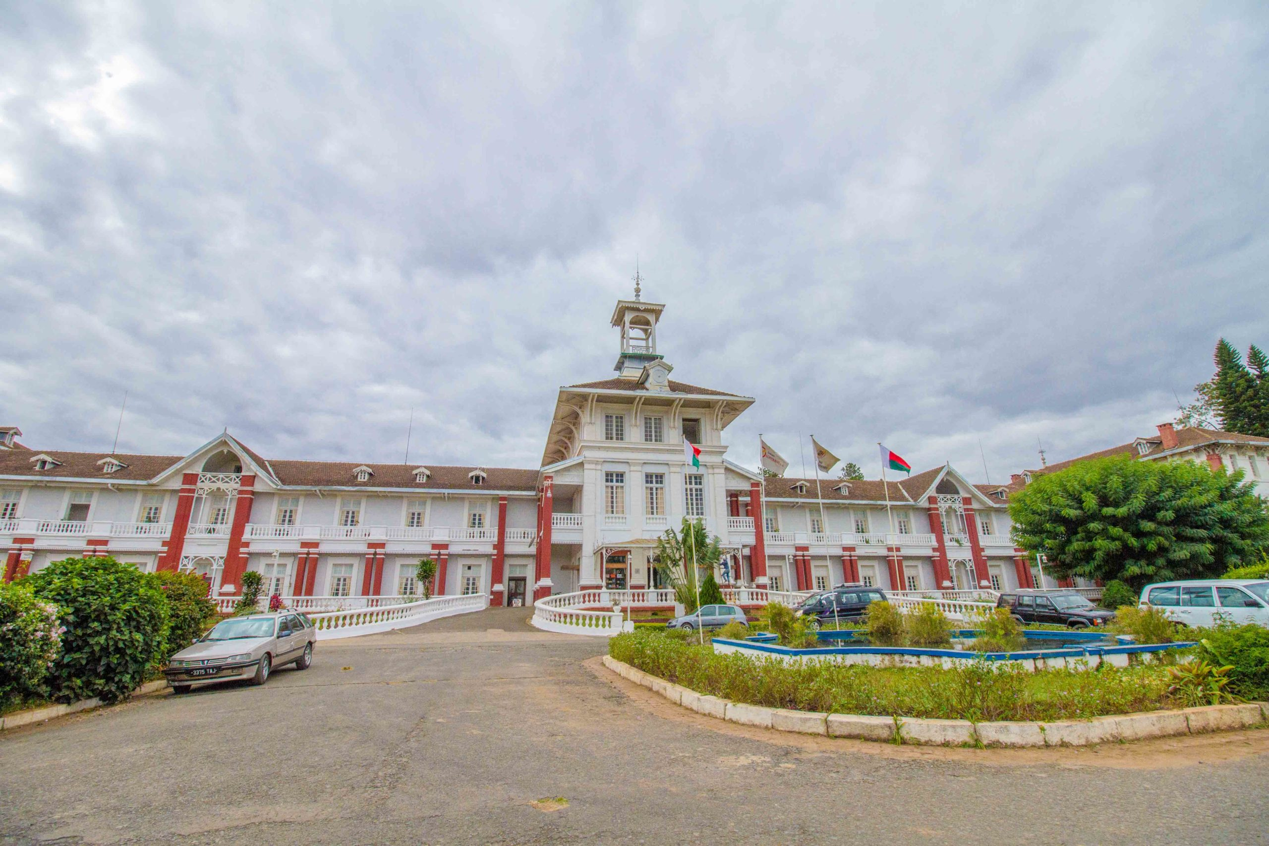 Madagascar - Antsirabe, Hotel des Thermes 2